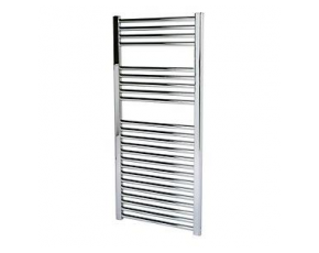 Flat Chrome Towel Rail - 250W