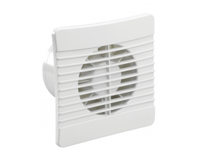 100mm Slim Axial Fan with Humidistat and Butterfly Shutters