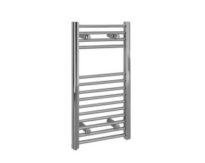 Flat Chrome Towel Rail - 150W