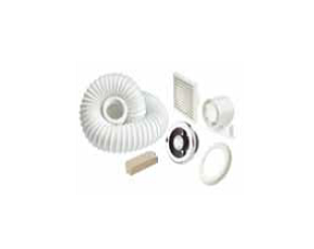 100mm Shower Fan and Light Kit with Timer Part L